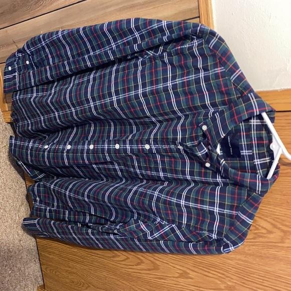 American Eagle Flannel (L) Men's